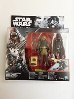 NEUF Star Wars - Rogue One (Blister) -  lot rebel commando Pao + Death Trooper