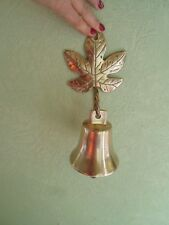 Excellent Wall Mounting Bell With Acorn Leaf Wall Mount Indoor or Outdoor Use