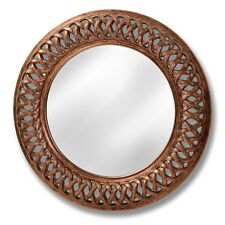 ANTIQUE GOLD LATTICE WALL MIRROR - PERFECT FOR ANY ROOM IN  THE HOME.