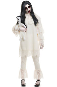 Wicked Doll Ghost Adult Costume
