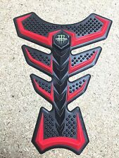 Cojín de goma 3D Tanque De Motocicleta Honda Yamaha Suzuki Kawasaki Triumph (tipo 2)