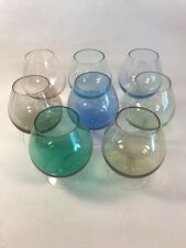 PV02436 Mid Century HARLEQUIN Brandy Snifters- Set of 8
