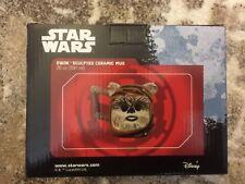 Vandor 55740 Star Wars Ewok Head Shaped Ceramic Soup Coffee Mug Cup, 20 Ounce