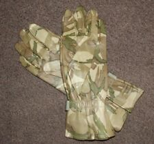 GENUINE BRITISH ARMY THIN LEATHER MTP COMBAT GLOVES, SIZE 6 SMALL - NEW