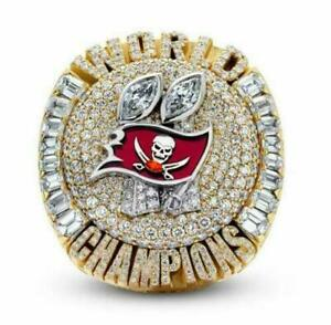 OFFICIAL 2021 TAMPA BAY BUCCANEERS Championship Super Bowl Ring #12 Tom BRADY