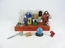 Hagrid World of Magical Creatures Playset HARRY POTTER 2003 Mattel mini moving