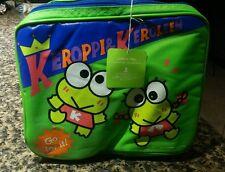 Sanrio keroppi & keroleen lunch pail bag
