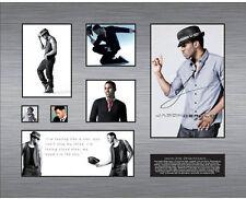 New Jason Derulo Signed Limited Edition Memorabilia Framed