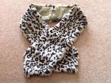 DANIELE MEUCCI LEOPARD STOLE SCARF MADE IN ITALY NEW