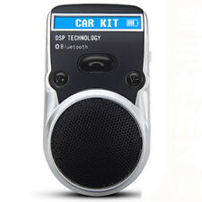 Solar Handsfree Bluetooth Car Kit Powered LED Speaker For Mobile Phone Cellphone