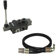 Kit Distributeur hydraulique compact à commande manuelle avec flexibles