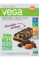 Vega Protein + Snack Bar - Chocolate Caramel 1.7 oz - 12 Bars (3pack)