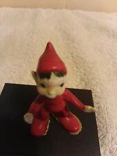 Little Red Porcelain Elf Bradley Bone China Japan