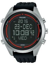 Pulsar Mens PQ2045 Digital Digital Display
