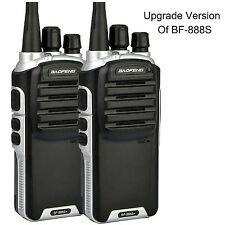 Baofeng BF-888S Plus UHF Walkie Talkie Long Distance Range Communication Two-...