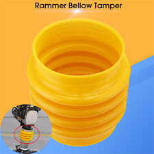 22cm/8.7''  Rammer Bellows Boot Yellow For Jumping Jack Compactor Tamper Rammer