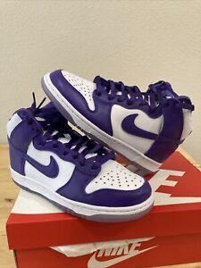 "Women's Nike Dunk High SP ""Varsity Purple"" DC5382 100 Size 7.5(W)"