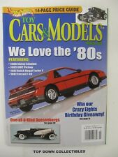 Hot Wheels Toy Cars & Models Magazine  March 2006  14, Page Price Guide