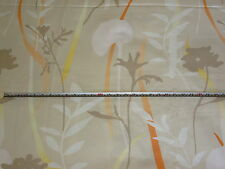 'Giardino' Zimmer + Rohde Leaf Outline 100% Cotton Furnishing Fabric, 2.6 mts
