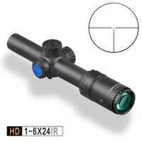 Compact Scope Discovery HD 1-6X24 IR Long Eye Relief Hunting Tactical Riflescope