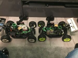 2 x ansmann virus 2.1 1/8 scale Rc buggy