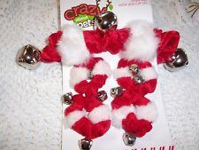JIngle BELL Dog COLLAR & Leg CUFF M/L Scrunchie Costume Petco puppy new pet