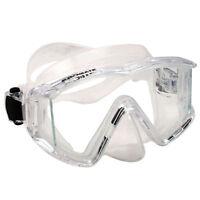 Promate Avanti TL Panoramic Tri-View Edgeless Scuba Dive Mask Snorkeling Gear