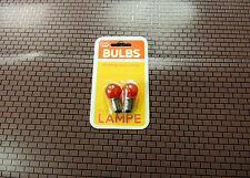 Model Power Lamp 257-96R Bulbs 1 Pack( 2 BULBS)  RED 14V Bayonet Style NWB !