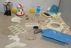 Mattel 1966 Major Matt Mason Man in Space Accessories Lot Tools Shuttle Parts