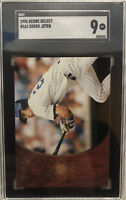 1996 Score Select ROOKIE CARD #161 Derek Jeter SGC 9 Beautiful Card 525