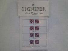 15mm Signifer Historic  Miniature Southern National Flags