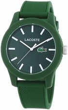 Lacoste Original 2010763 Unisex 12.12 Green Resin 43mm