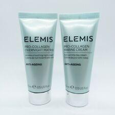 Elemis Pro-Collagen Marine Cream & Pro-Collagen Overnight Matrix travel sealed