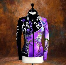 SMALL Western Showmanship Pleasure Horsemanship Show Jacket Shirt Rodeo Queen