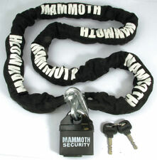 Mammoth Motorcycle Chains, Cables & U-Locks
