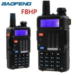 Baofeng BF-F8HP  8-Watt Tri-Band & Power Two-Way Radio VHF-UHF-FM Ships from USA