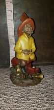 """Tom Clark Gnome Fireman """"Elmo"""" #5022 Edition 1987 St Elmo's Fire"""