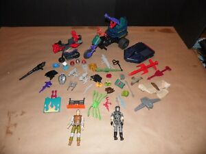 Lot of Vintage GI Joe M.A.S.K. AND Transformers Part's and Weapons