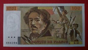 Billet 100 francs Delacroix 1980 NEUF F.69 04a