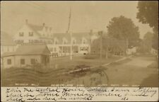Belgrade Mills Lakes ME WD Hinds Taxidermist Taxidermy Real Photo Postcard
