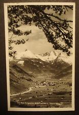1938: Alte AK Bad Hofgastein + Hohen Tauern, nach Bad Honnef/ Rhein
