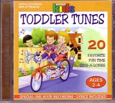 WONDER KIDS Toddler Tunes CD Classic Great Hits LYRICS INCLUDED ROLL OVER Rare