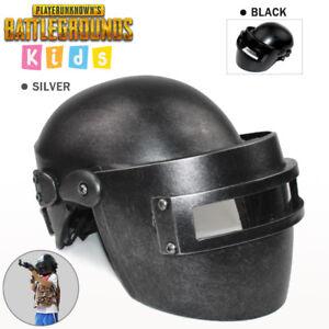 Kids PUBG Cosplay Mask,PLAYERUNKNOWN'S BATTLEGROUNDS Lvl.3 Helmet Wearable Props