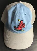 MLB ST. LOUIS CARDINALS '47 FRANCHISE COOP BIRD W/BAT MENS HAT RED CAP Two Tone