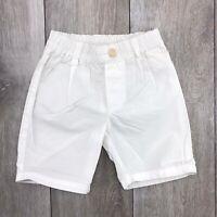 Bermuda Bianco Tinta Unita Neonato Papermoon 8PM61042