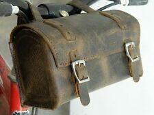 Genuine Leather Schwinn Bicycle Saddle Bag Utility Tool Box bike mountain racer.