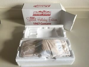 1967 Camaro Bright Yellow Lane Motor State 2008 Holiday Car 1/18 LE Only 555
