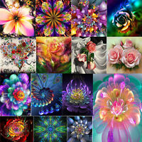 DIY 5D Diamond Painting Embroidery Animals Flower Cross Crafts Stitch Kit Decor
