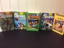 9 Matt Christopher Sports Series HCDJ 4 1st Print~Baseball~Soccer~Summer Reading