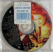 """BELINDA CARLISLE CD I Get Weak PICTURE DISC 3 Track 12"""" Ver. 7"""" Should STICKERED"""